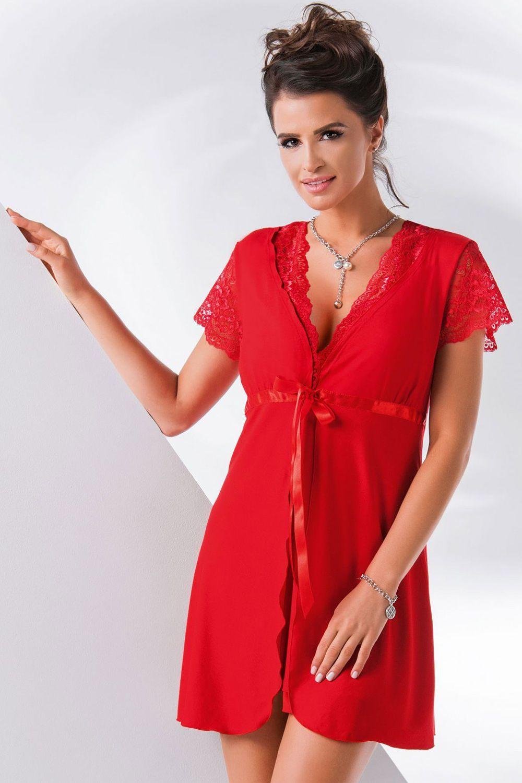 Megi dressing gown Red