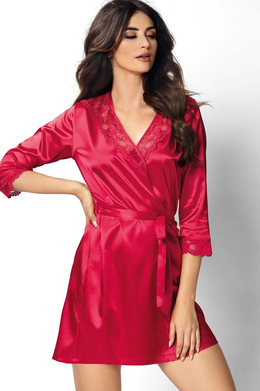 Venus dressing gown Red