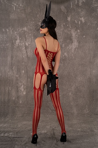 LC 17132 Almas bodystocking Red, livco_lc 17132 almas bodystocking red, livco corsetti fashion, Польша